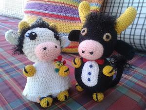 Galamigurumis Soy una Vaca: Patrón revisado - Galamigurumis | 225x300