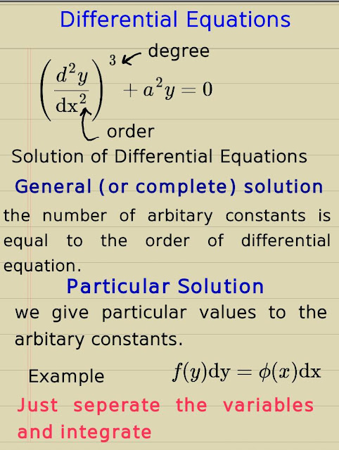 Notation for differentiation | Engineering Mathematics