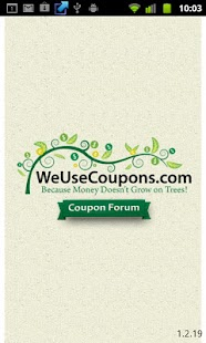 WeUseCoupons Coupon Forum- screenshot thumbnail