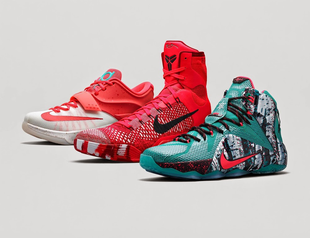 af78701be361 ... Release Reminder Nike LeBron 12 8220Christmas8221 Collection