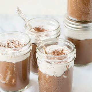 Vegan Chocolate Pudding with Whipped Coconut Cream