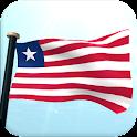 Liberia Bandera 3D Gratis icon