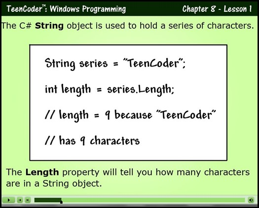 Teen Coder Video Lesson