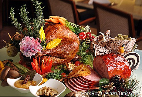 ParkRoyal Hotel Beach Road Plaza Brasserie Christmas New Year Festive Menu