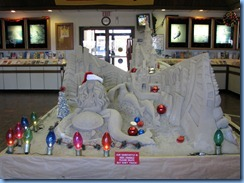5983 Texas, South Padre Island - Visitors Center - sand sculpture