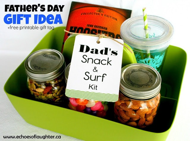 Father's Day Snack & Surf Kit