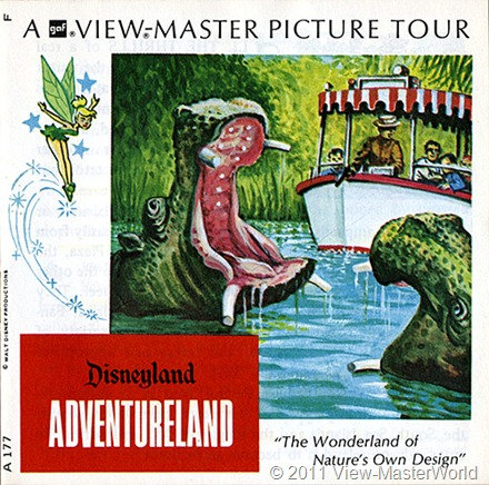 View-Master Adventureland (A177), Booklet Cover