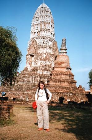 Obiective turistice Thailanda: templu Ayutthaya