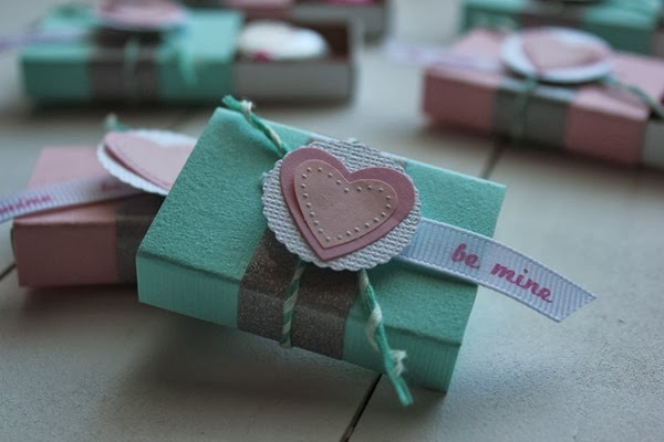 DIY Matchbox Valentine Craft