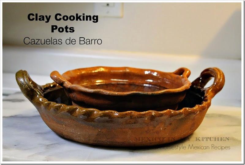 Traditional Mexican Cooking utensils │ clay cooking pots cazuelas de barro