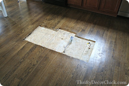 patching hardwoods
