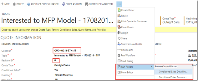 Handle Page Header Data in CRM Custom Report/SSRS with Multiple