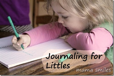 Journaling for Littles from Mama Smiles