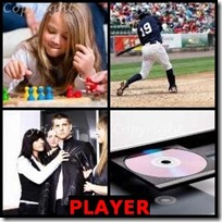 PLAYER- 4 Pics 1 Word Answers 3 Letters