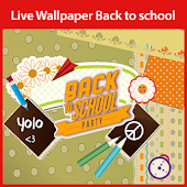 Back to School Live Wallpaper