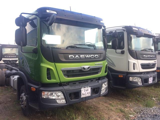 Daewoo Prima 9 tấn thùng bạt