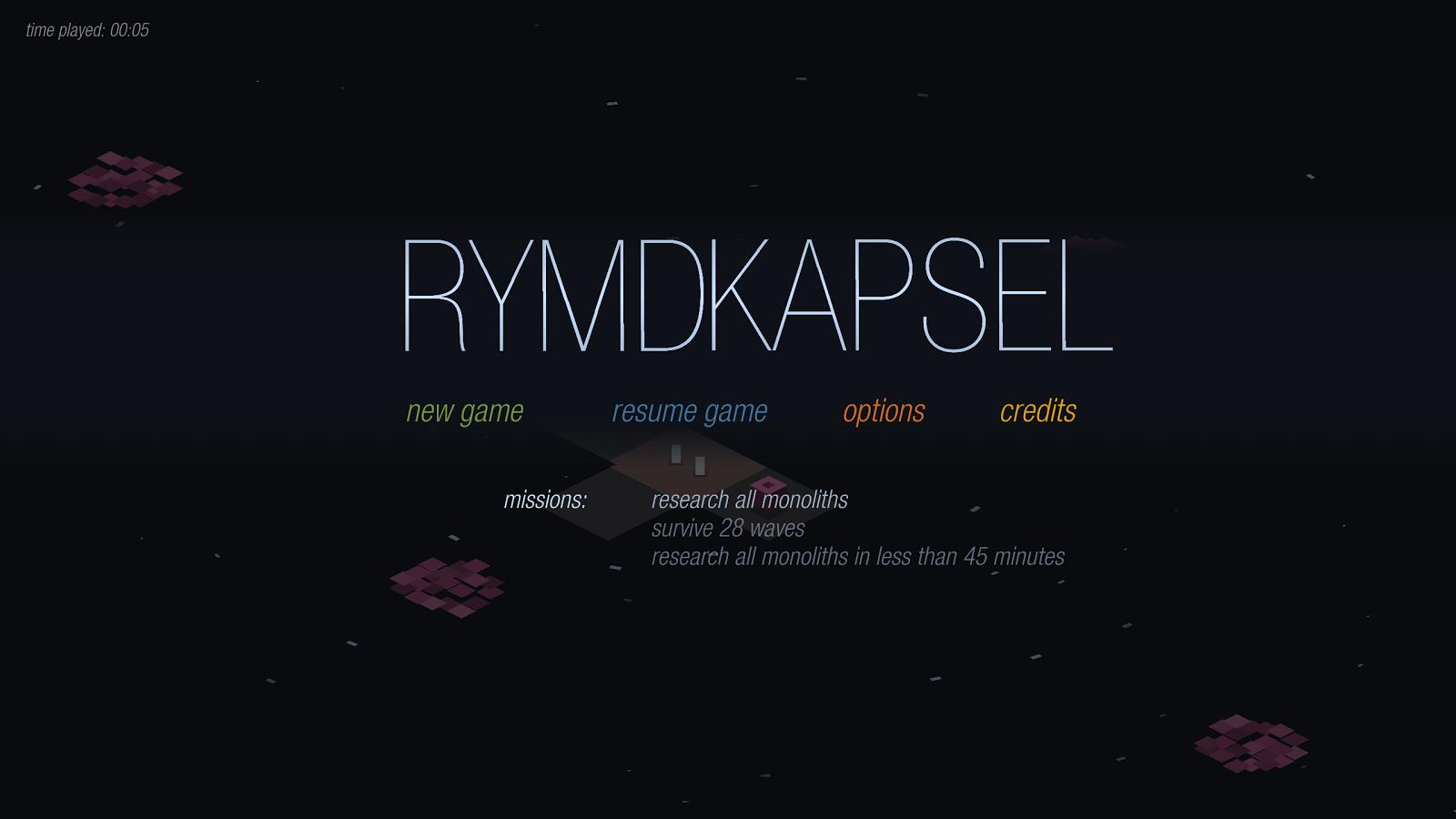 rymdkapsel - screenshot