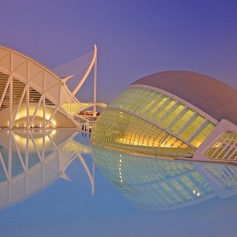Impressive Architectures at City of Arts and Sciences in Valencia