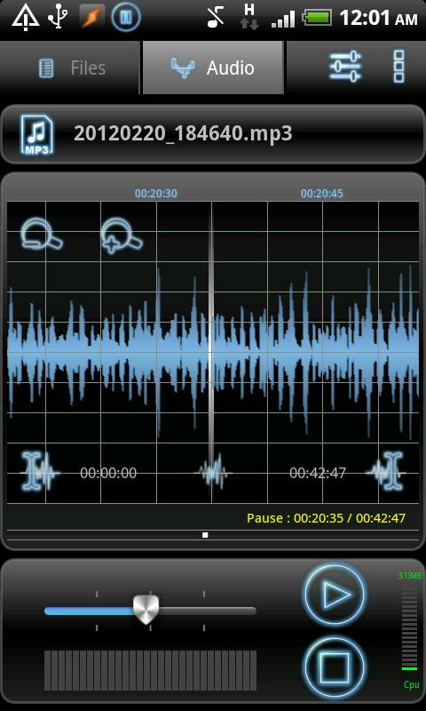 RecForge Lite - Audio Recorder - screenshot