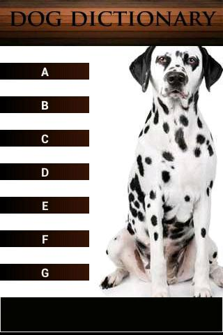 Dog Dictionary