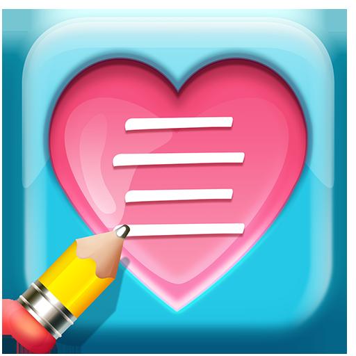 爱情文字图片 Insta text 攝影 App LOGO-硬是要APP