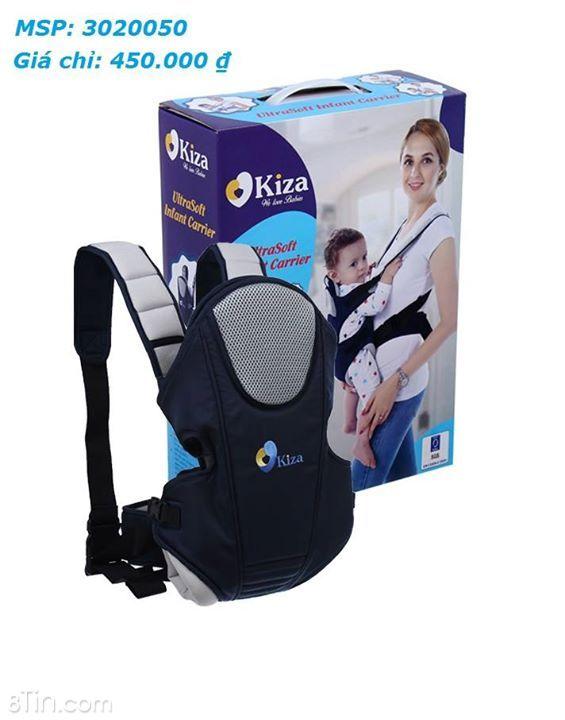 #sanpham_KidsPlaza Địu em bé cao cấp Kiza BB009  Bạn đồng hành