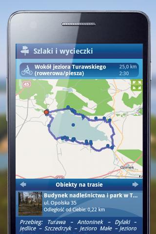 Turawa i jeziora turawskie- screenshot