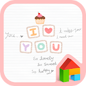 love message dodol theme
