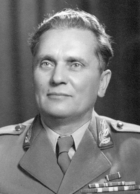 Josip Broz TitoPresident of the Yugoslav United Peoples' Front and Minister of the National Defence14th June 1946