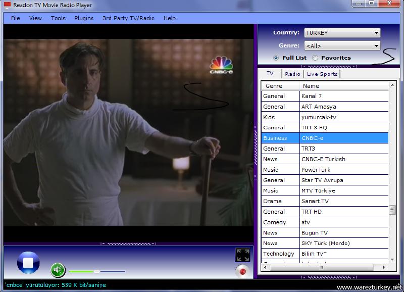 Readon TV Movie Radio Player 7.6.0.0 indir