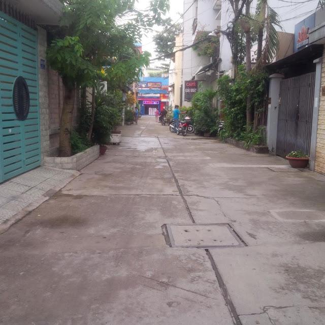 Bán nhà quận Tân Phú hẻm một sẹc đường Lê Liễu 07