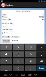 Quit Smoking Incentive Free- screenshot thumbnail