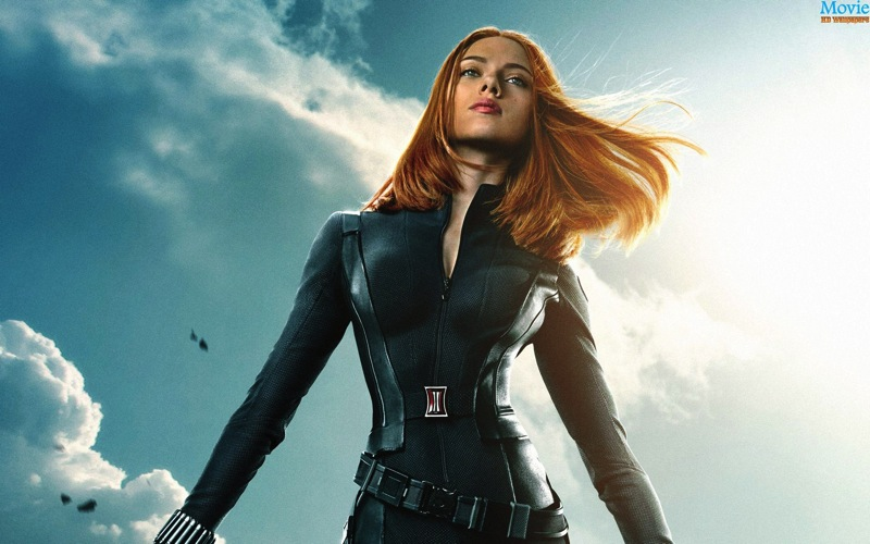 Captain America The Winter Soldier Scarlett Johansson as Black Widow