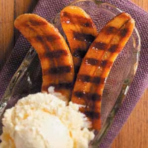 Grilled Banana Camping Dessert Recipe