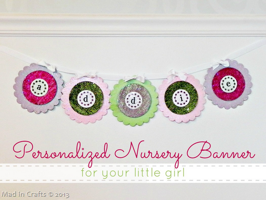 Personalized Banner for a Nursery