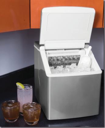 кубиковый лед - льдогенератор Амбер (Amber)