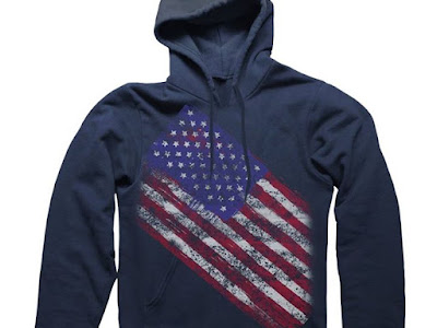 Wearin' American flag apparel makes you 1776 more attractive to the opposite sex