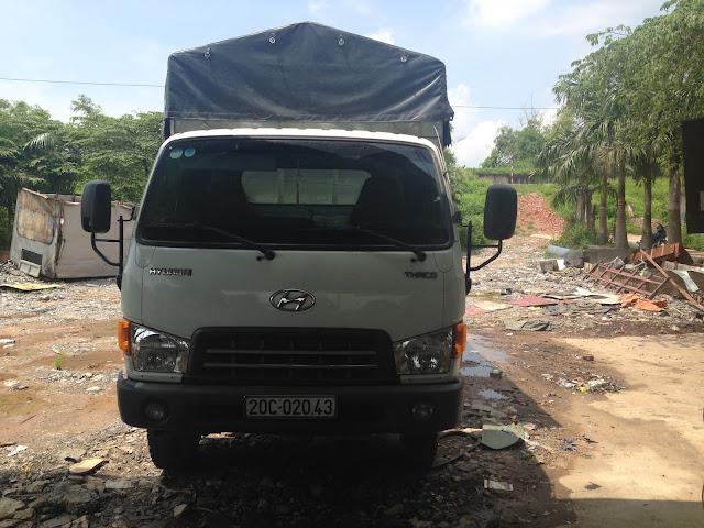 Xe tải cũ 2,5 tấn hyundai