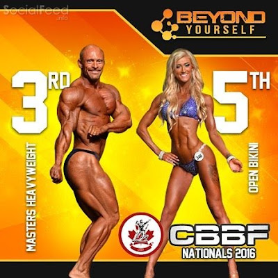 Congratulations to our athletes Ken and Nikki for their placings at the