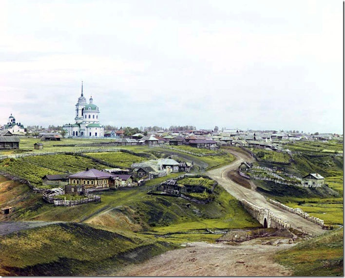 The-Village-of-Kolchedan-1912