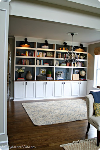 Bon DIY Built In Library Bookcases