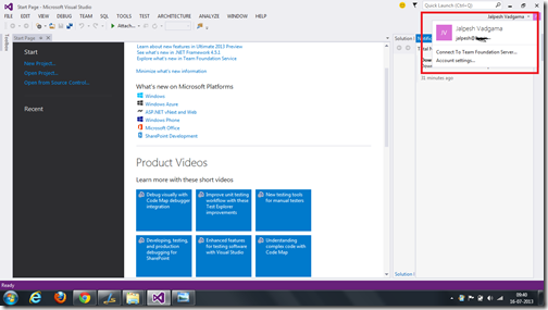 VisualStudio2013FirstLook