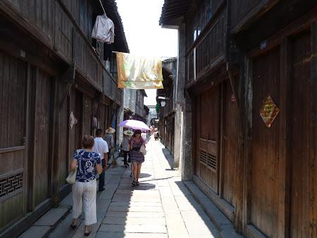 Obiective turistice Wuzhen: ulite traditionale chinezesti in China