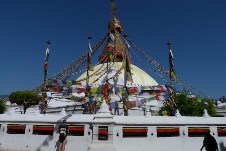 marea stupa budista Bouddha