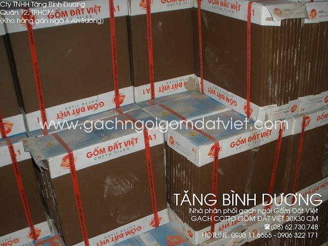 gạch tàu màu socola Gốm Đất Việt