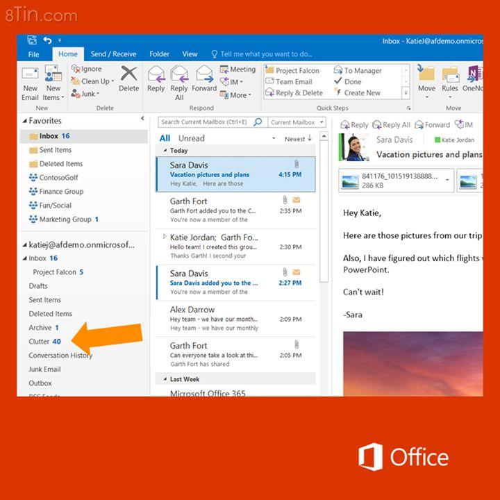 Bạn có biết cơ chế cá nhân hoá của #Office2016 mới dựa