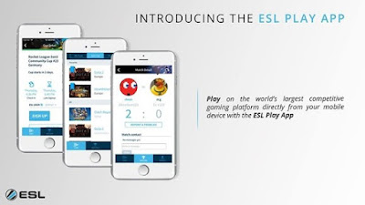 The ESL Play app: enjoy competing on ESL Play on a new level on Android and iOS