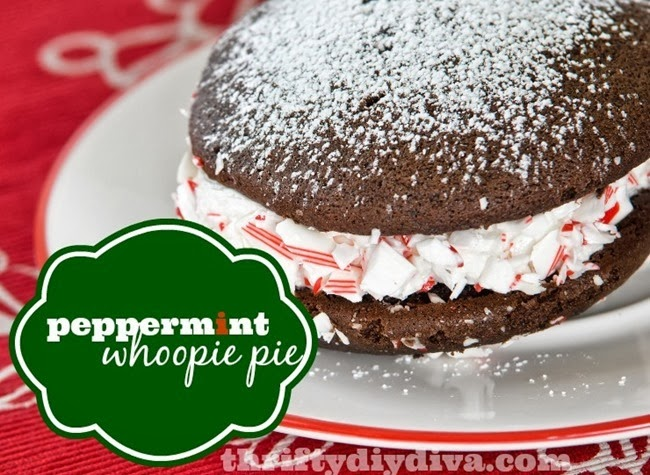 Peppermint-Whoopie-Pie-Christmas-Recipes
