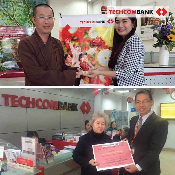 #Techcombank xin chúc mừng tất cả các khách hàng đã may mắn