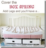 Daybed from Box Spring